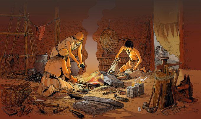 age du cuivre et du bronze