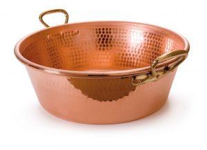 bassine confiture en cuivre