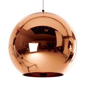 lampadaire en cuivre