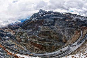 La mine d'Antamina