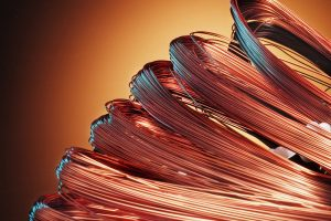 rouleaux de cables en cuivre