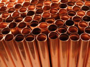 tuyaux large en cuivre